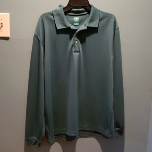 Pro Tour Airplay Long Sleeve Golf Shirt Size L